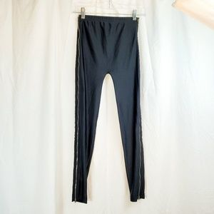 American Apparel M Disco Stretch Pants Leggings